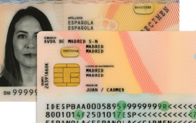 Spanish ID cards, evolution and meaning of DNI 3.0 fields