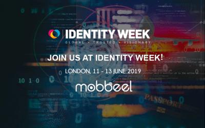 Mobbeel will attend Identity Week 2019 in London
