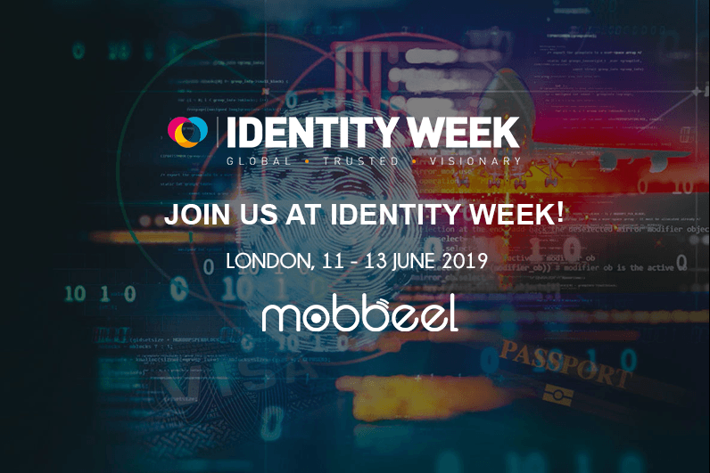 Mobbeel will attend Identity Week 2019 in London