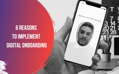 6 reasons to improve your registration process through digital onboarding
