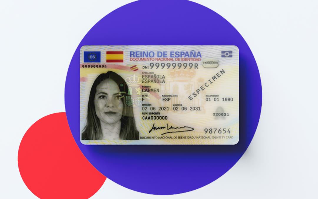 Nuevo formato del DNI en España: DNI 4.0